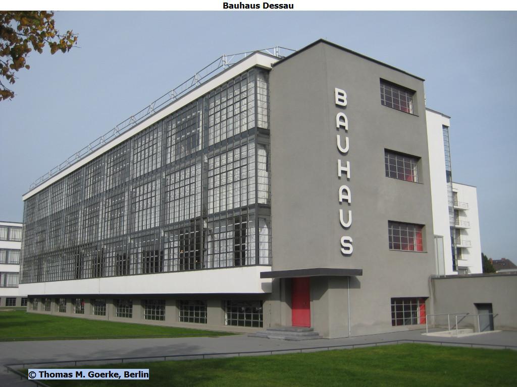 Bauhaus Merkmale m goerke unesco welterbe bauhaus